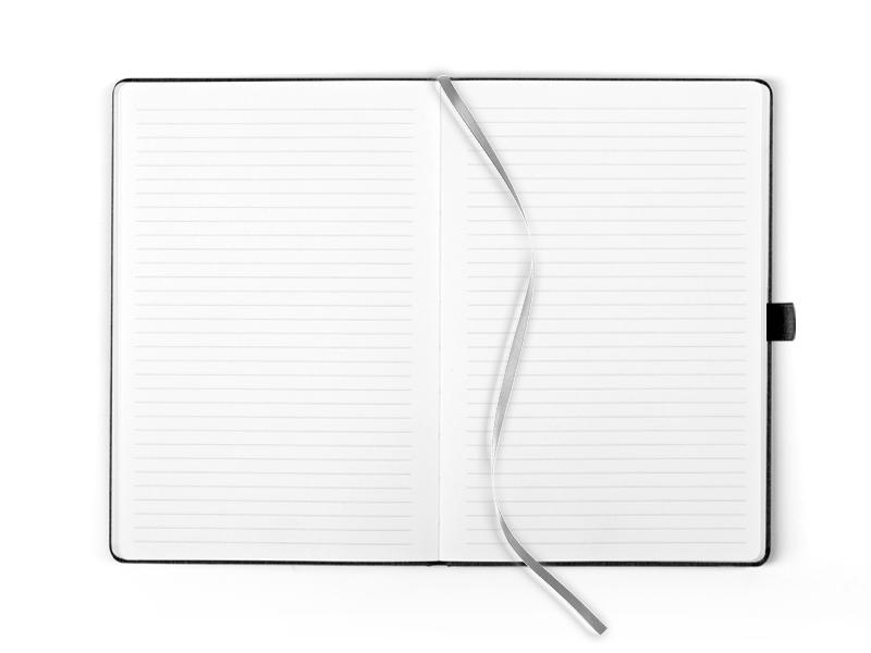 OSLO, notes a5 formata, crni
