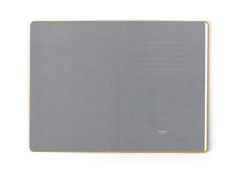monaco notes a5 formata narandzasti makart