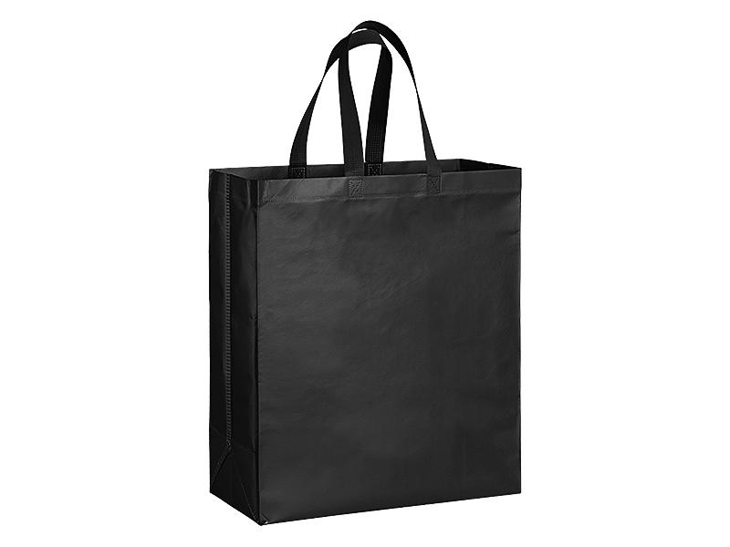 PLAZA MAXI, biorazgradiva torba za kupovinu, crna