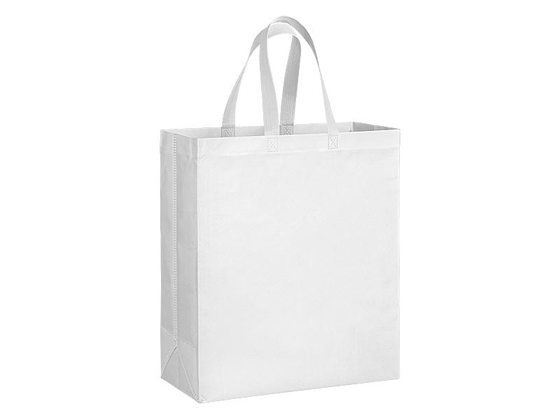plaza maxi biorazgradiva torba za kupovinu bela makart