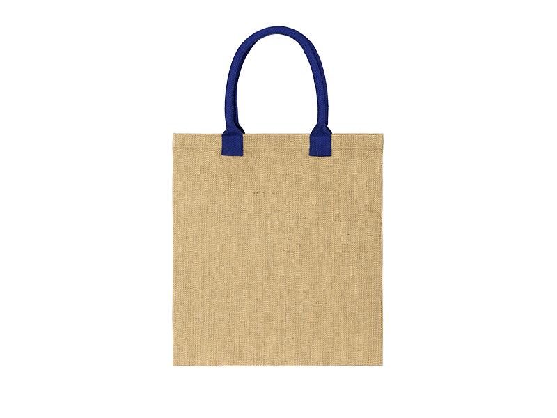 cherry torba za kupovinu od jute rojal plava makart