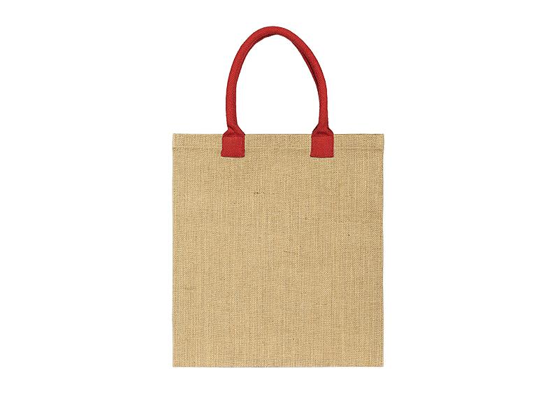cherry torba za kupovinu od jute crvena makart