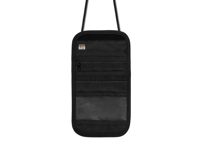 passport novcanik torbica crna makart