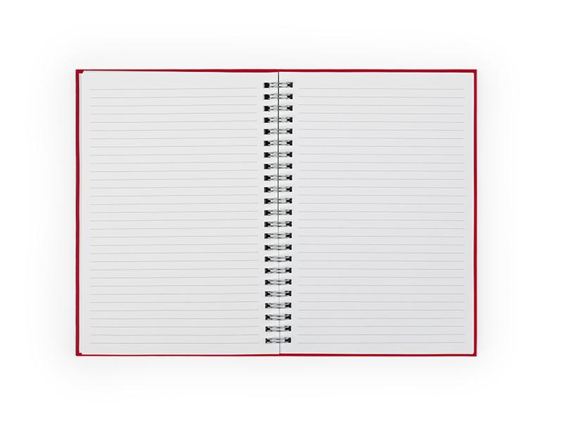 gratz notes a5 formata crveni makart