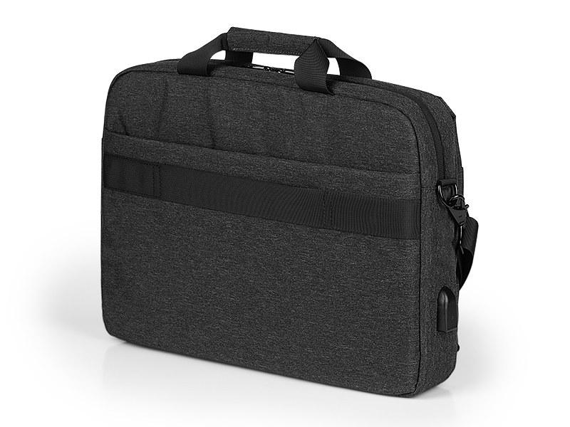 brooklyn konferencijska torba tamno siva makart