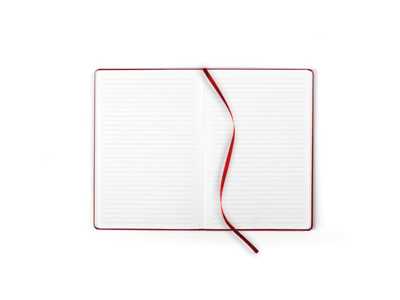 note mini notes a6 formata crveni makart