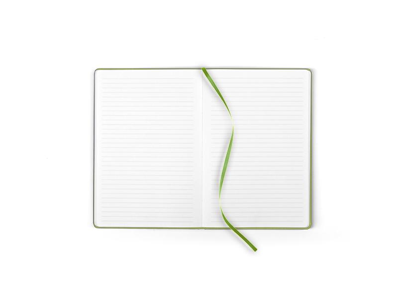 note mini notes a6 svetlo zeleni makart