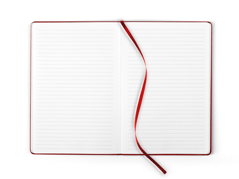 note notes a5 formata crveni makart