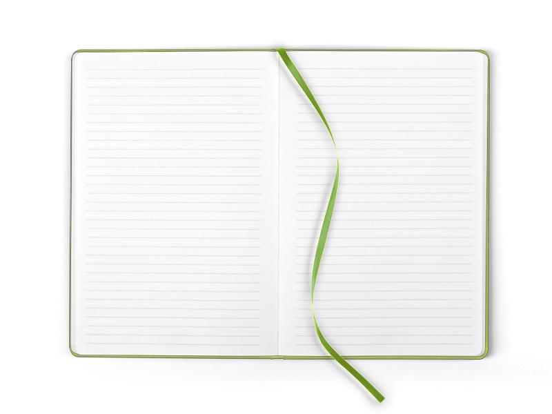 note notes a5 svetlo zeleni makart