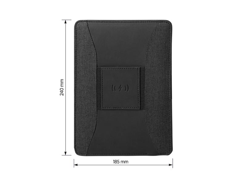 DARWIN, notes a5 formata sa pomoćnom baterijom kapaciteta 4000 mah, crni