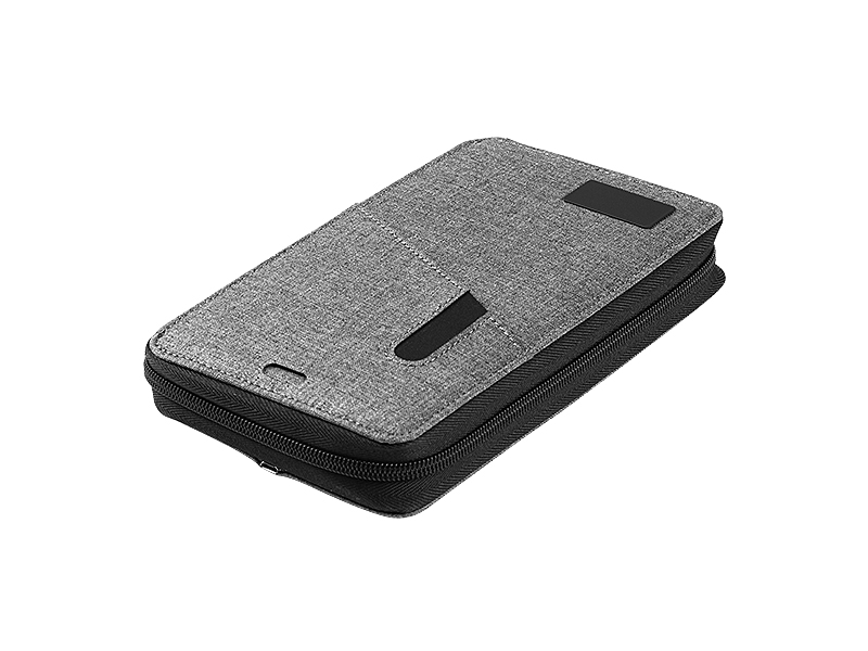 power wallet novcanik sa pomocnom baterijom kapaciteta 4000 mah sivi makart