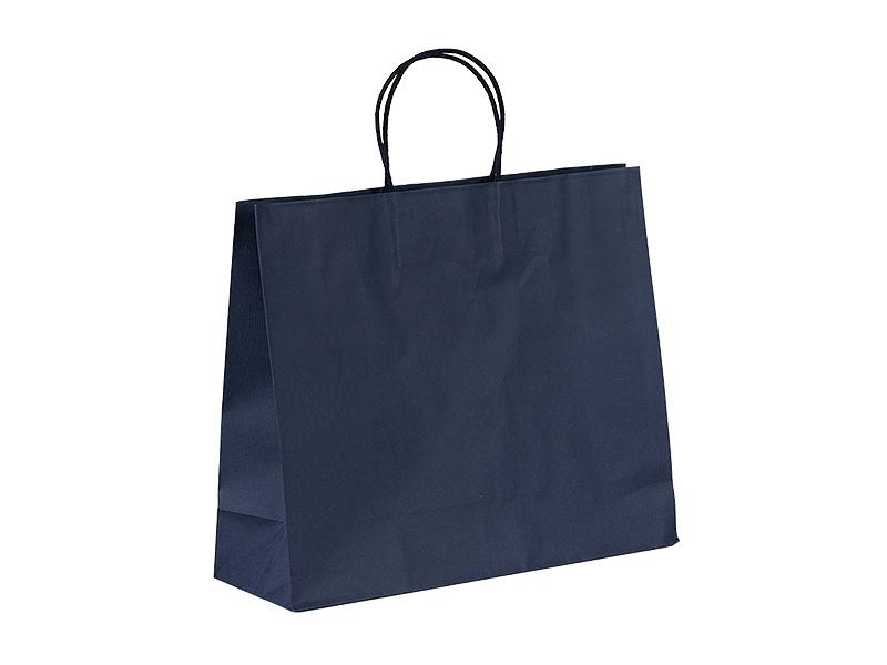 perla papirna poklon kesa plava makart