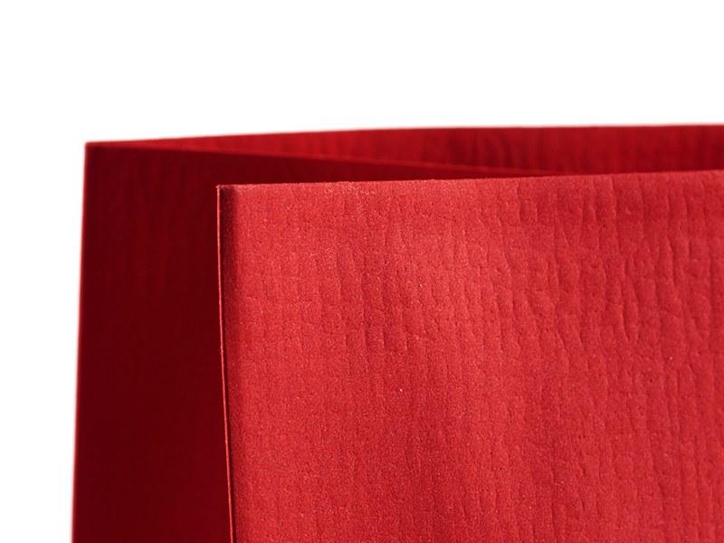 perla papirna poklon kesa crvena makart