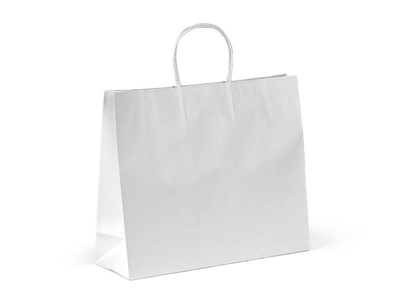 perla papirna poklon kesa bela makart