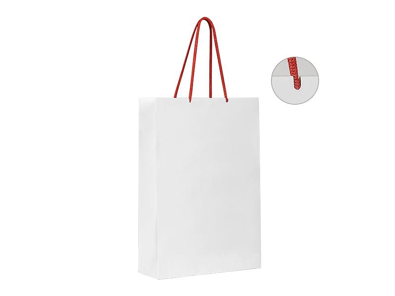 blanca papirna kesa crvena makart