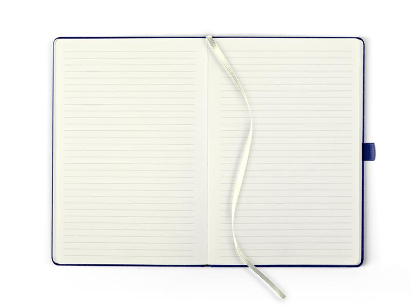 siena notes a5 formata plavi makart