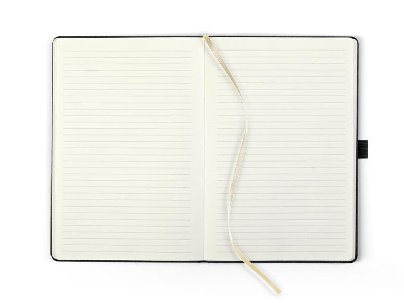 ONTARIO NOTE, notes a5 formata, crni