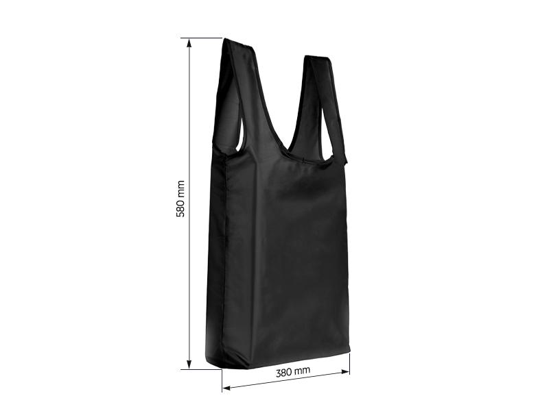 MARTINA, sklopiva torba, crna