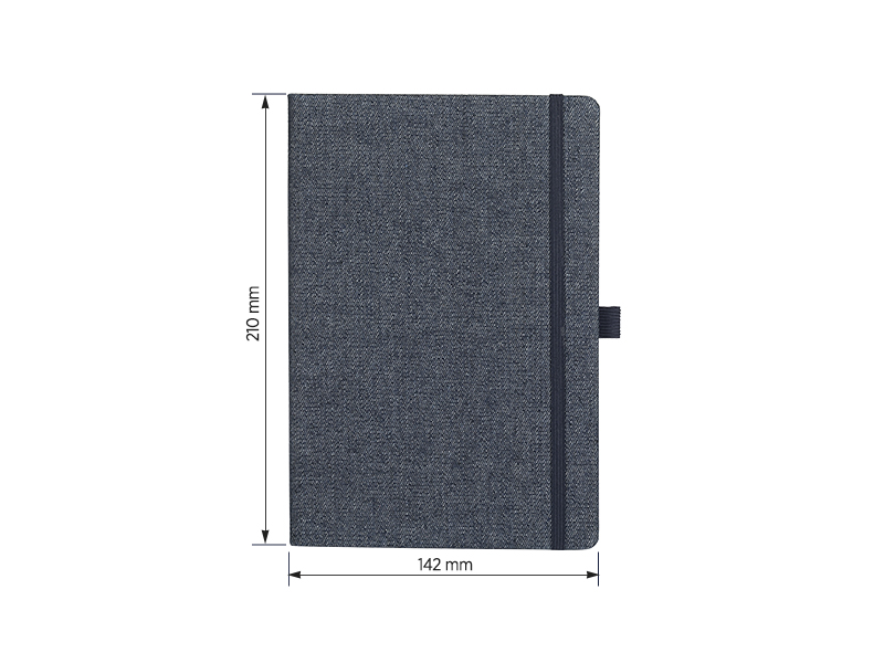 JEANS NOTEBOOK, notes a5, plavi