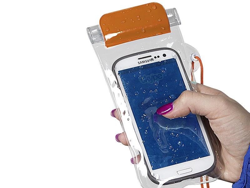 scuba futrola za mobinli telefon vodootporna narandzasta makart