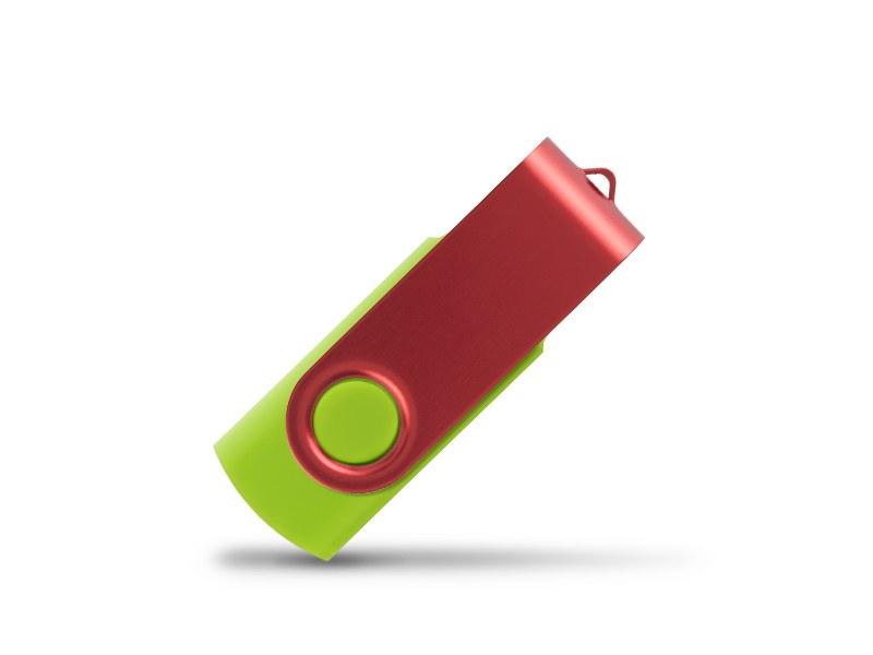 smart red usb flash memorija svetlo zeleni 16gb makart