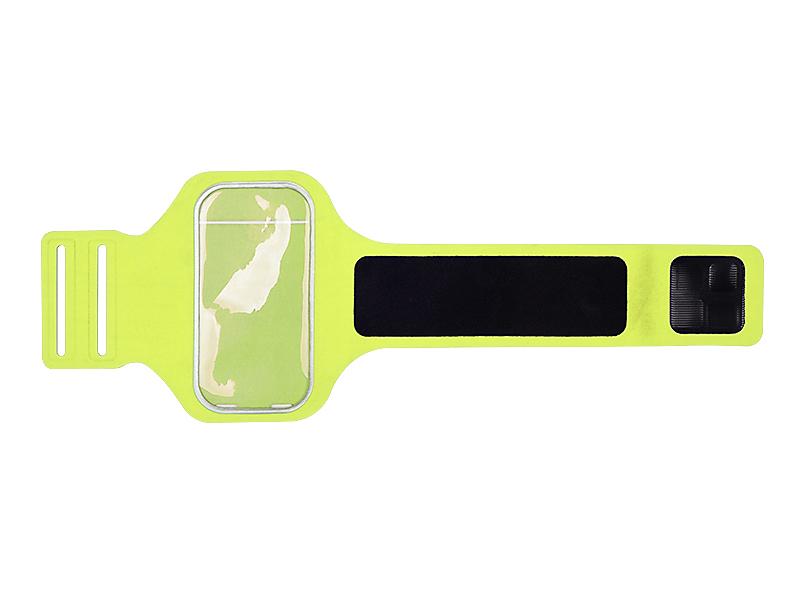 run sportska futrola za mobilni telefon neon zuta makart