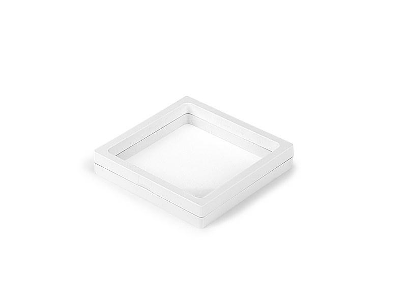 space 11 plasticna poklon kutija bela makart