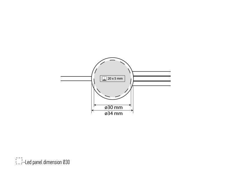 IMPULS, usb kabl za punjenje 3 u 1, dužine 1.2 m, crni