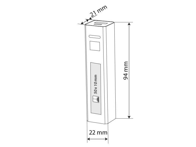 volta pomocna baterija kapaciteta 2200 mah crveni makart