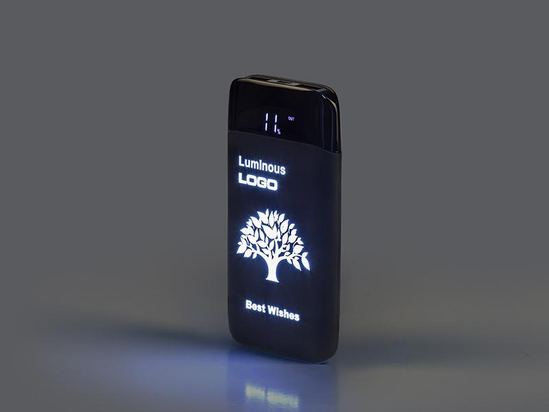 LUX, pomoćna baterija kapaciteta 10000 mah, crna