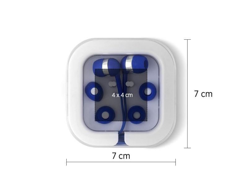 button slusalice plava makart
