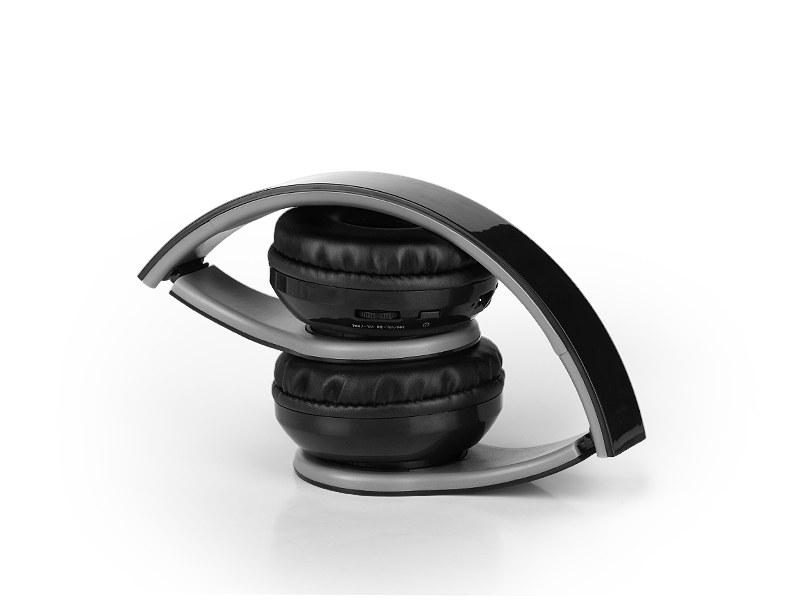 MIX, sklopive bežične slušalice, crna