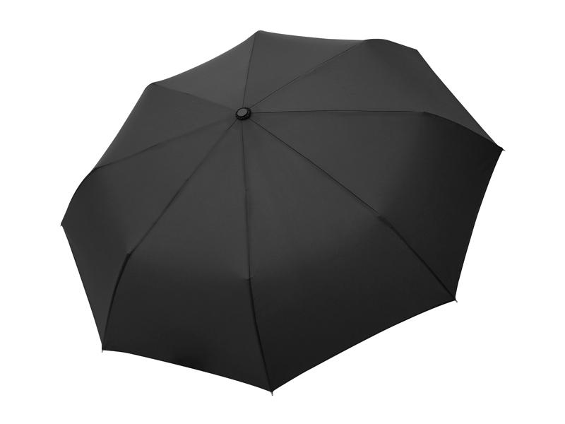 STRATO, sklopivi kišobran sa automatskim otvaranjem i zatvaranjem, crni