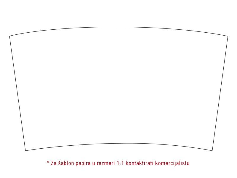 TRAVELINO, plastični termos sa izmenjivim papirnim uloškom, 250 ml, crni