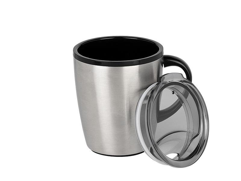 AROMA, metalni termos, 350 ml, crni
