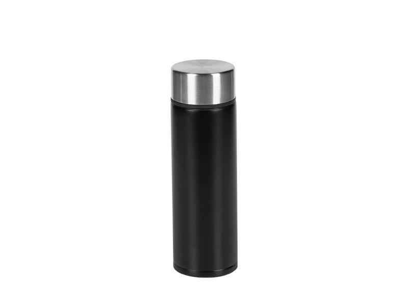 DOPPIO, metalni termos, 150 ml, crni