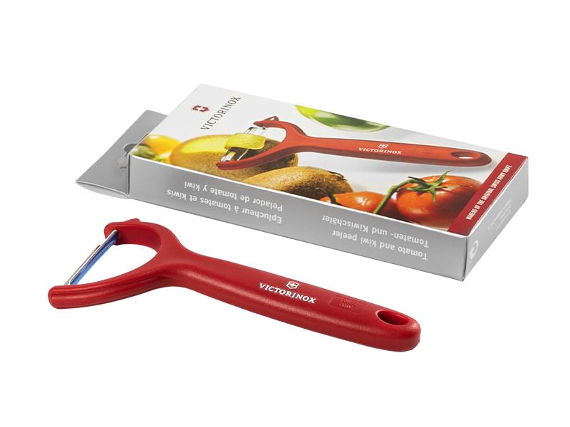 VICTORINOX PEELER, ljuštilica za voće i povrće, crvena