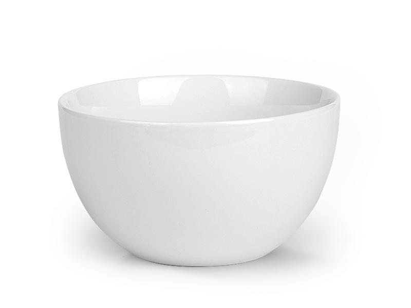ALMOND, porcelanska činija, 510 ml, bela