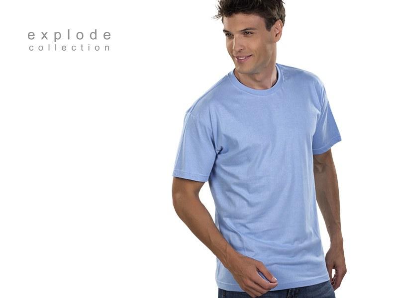 master pamucna majica svetlo plava makart