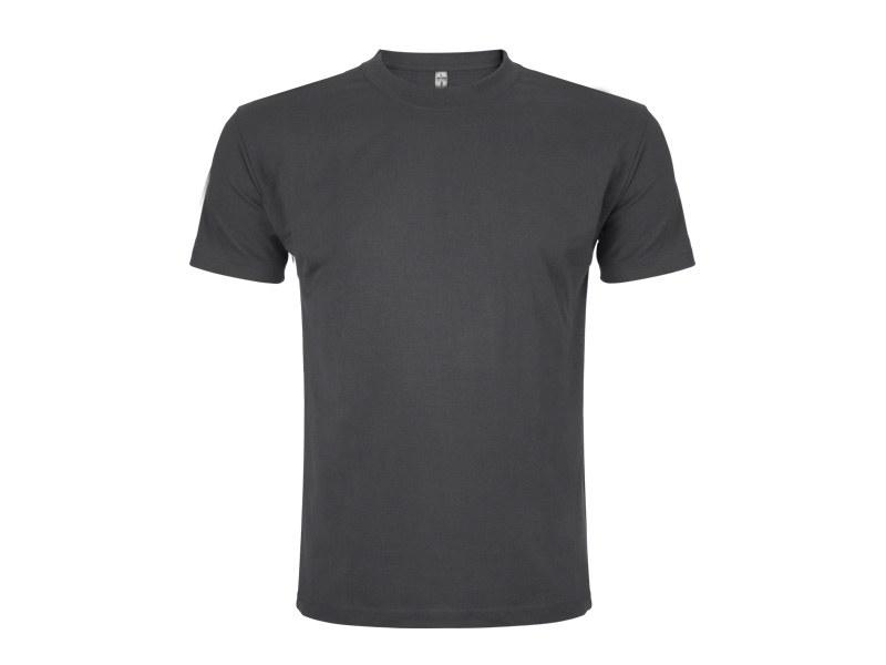 premium pamucna majica tamno siva makart