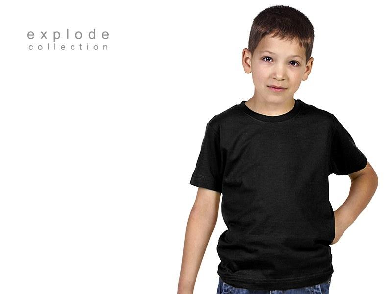 master kids decja pamucna majica crna makart
