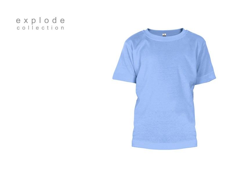 master kids decja pamucna majica svetlo plava makart