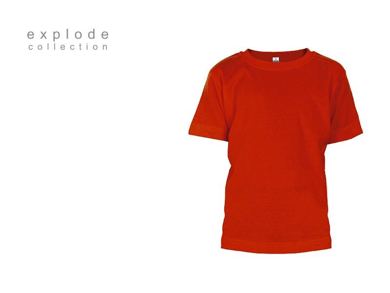 master kids decja pamucna majica crvena makart