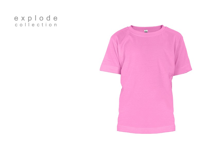 master kids decja pamucna majica roze makart