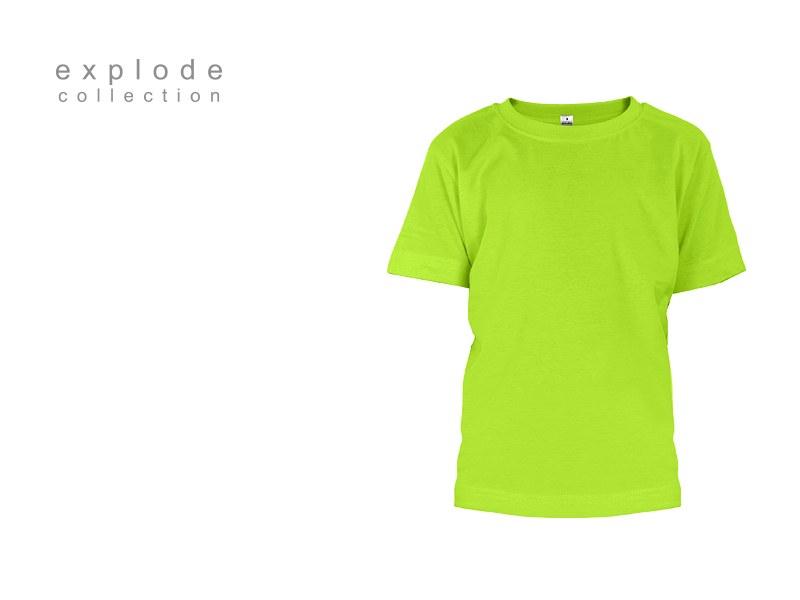 master kids decja pamucna majica svetlo zelena makart