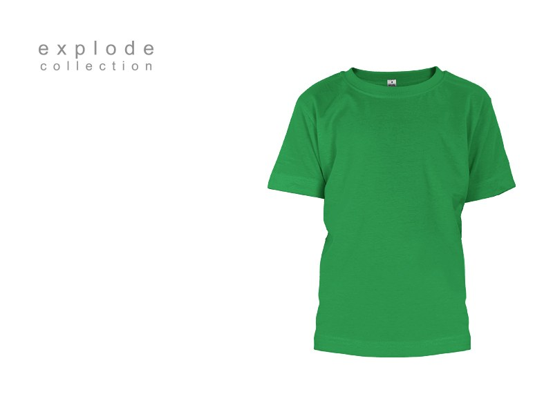 master kids decja pamucna majica keli zelena makart