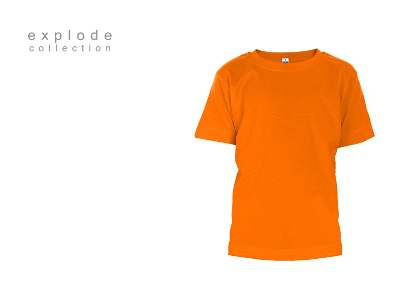 master kids decja pamucna majica narandzasta makart