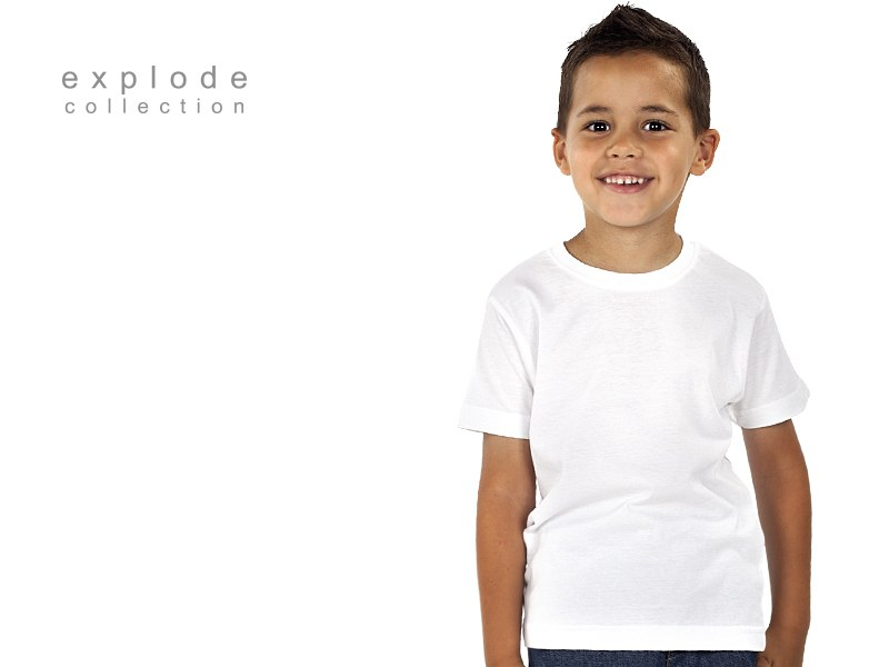 master kids decja pamucna majica bela makart