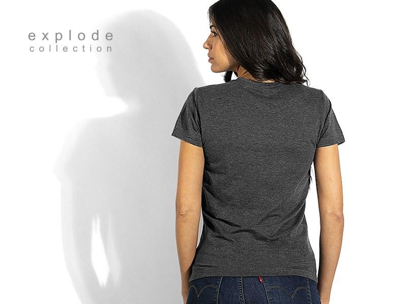 full hd lady zenska majica predvidjena za sublimaciju crna makart