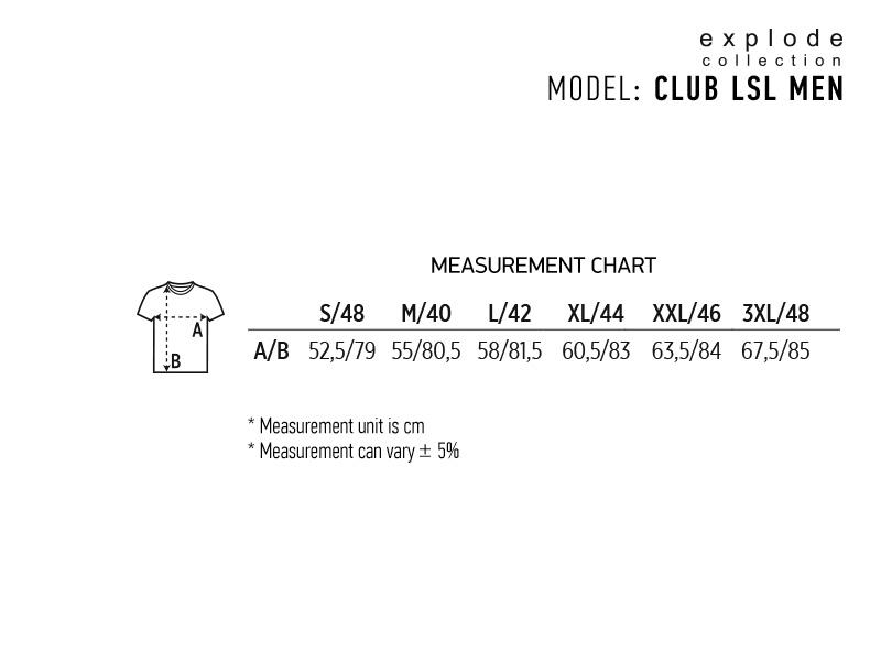 CLUB LSL MEN, muška košulja dugih rukava, crna